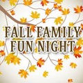 Fall Family Fun Night is set for October 26th!