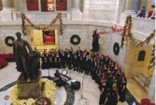 Singing in the Rotunda