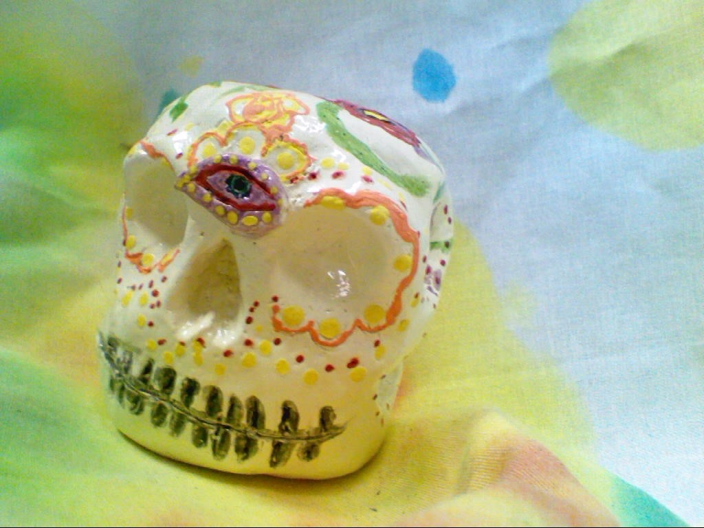 Jocelyn D. Ceramic Sugar Skull