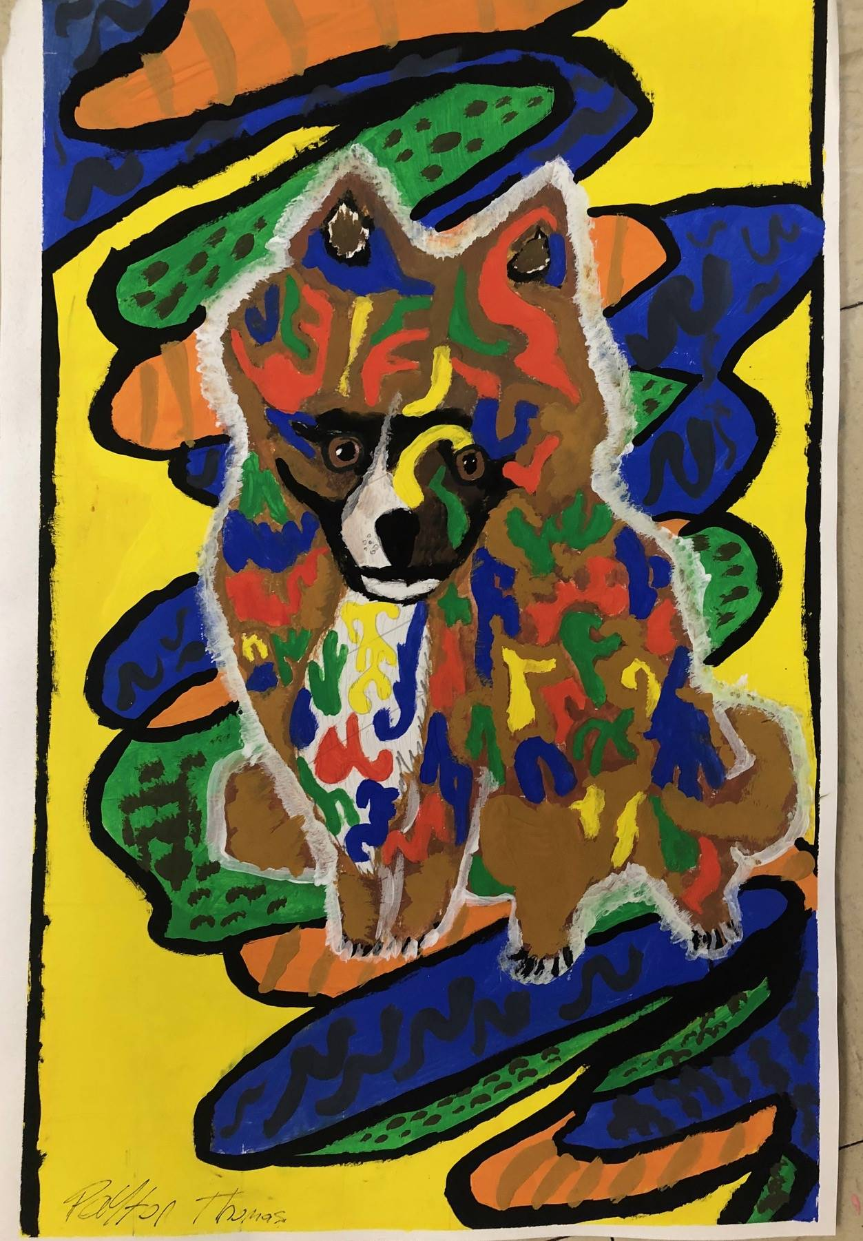 Abstract Pet Portrait