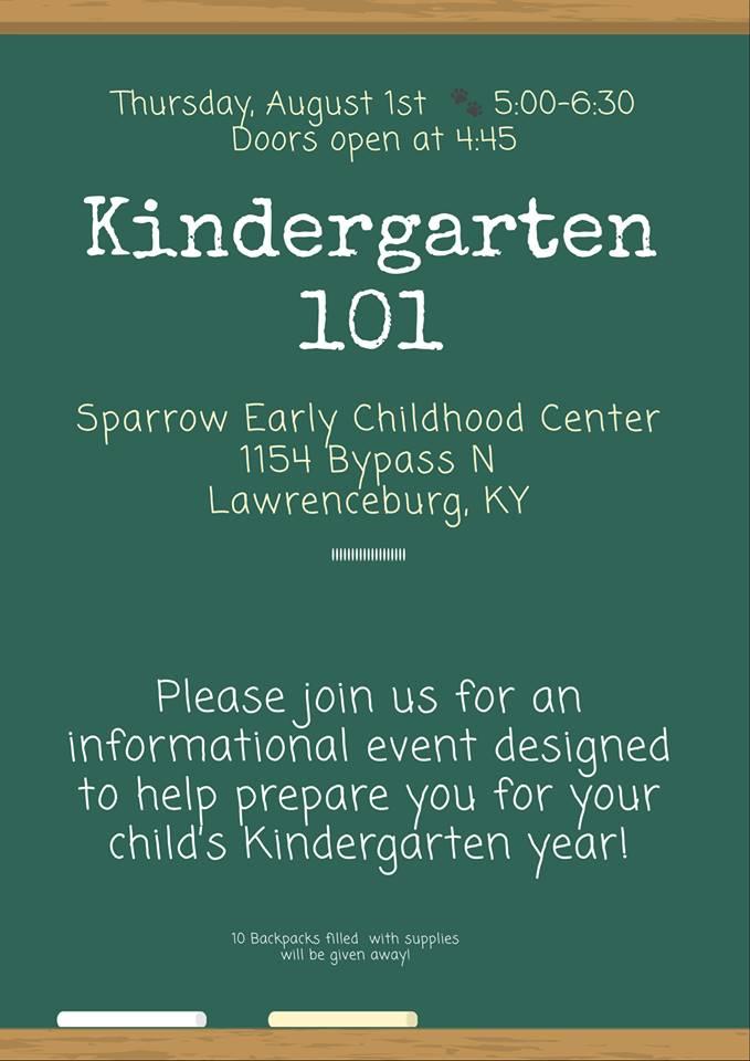 Kindergarten 101