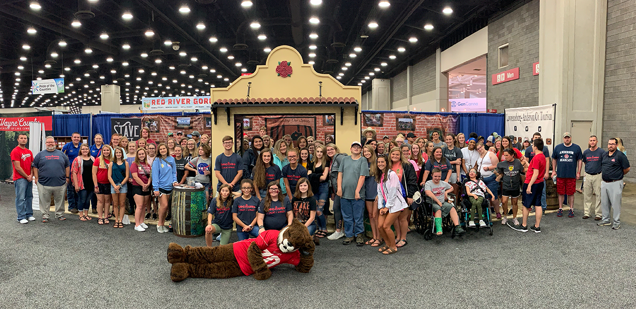 ACHS students at the Kentucky State Fair