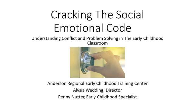 PP Slide Cracking the Social Emotional Code